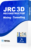 jrc 3d reconstructor mining-tunnelling pacchetto software