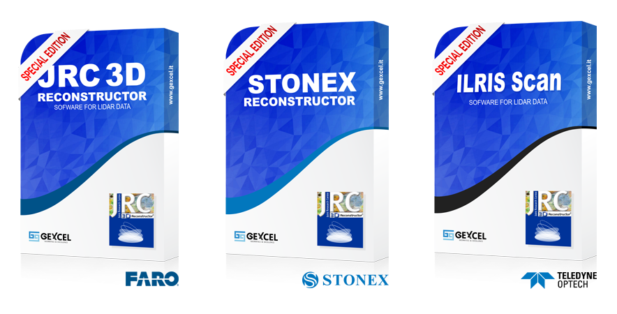 jrc 3d reconstructor special edition faro stonex teledyne-optech